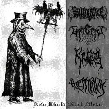 Krieg / Bitter Peace / Esoterica / The Many - New World Black Metal