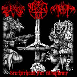 Nemesis Irae / Dark Managarm / Goat Perversör - Brotherhood for Blasphemy