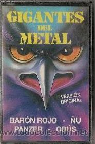 Barón Rojo / Panzer / Obús / Ñu - Gigantes del Metal