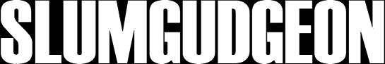 Slumgudgeon - Logo