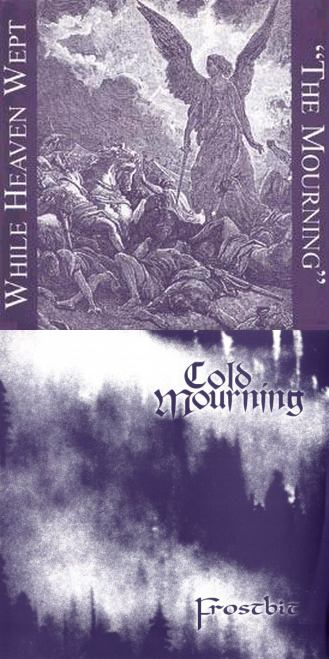 While Heaven Wept / Cold Mourning - The Mourning / Frostbit