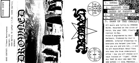 Drowned - Demo 1993