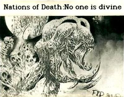 Nations of Death - No One Is Divine