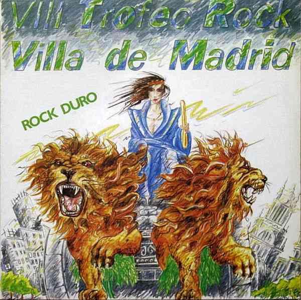 Esfinge / Furia Animal - VIII Trofeo Rock Villa de Madrid - Rock duro