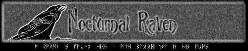 Nocturnal Raven - Logo