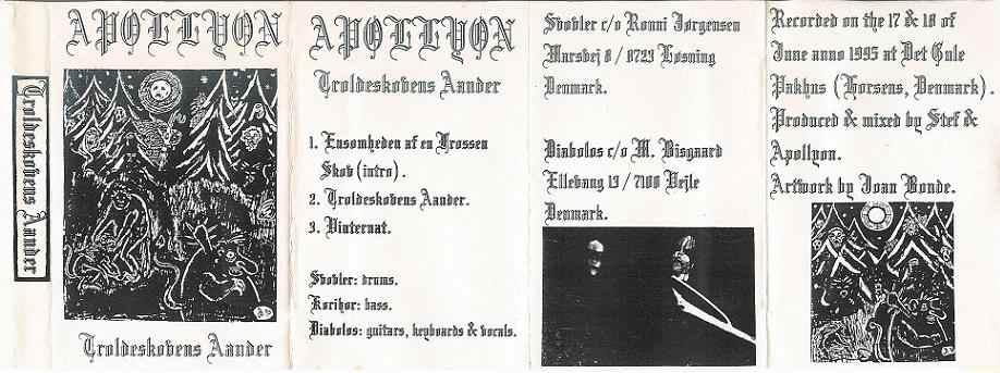Apollyon - Troldeskovens Aander