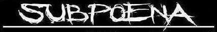 Subpoena - Logo