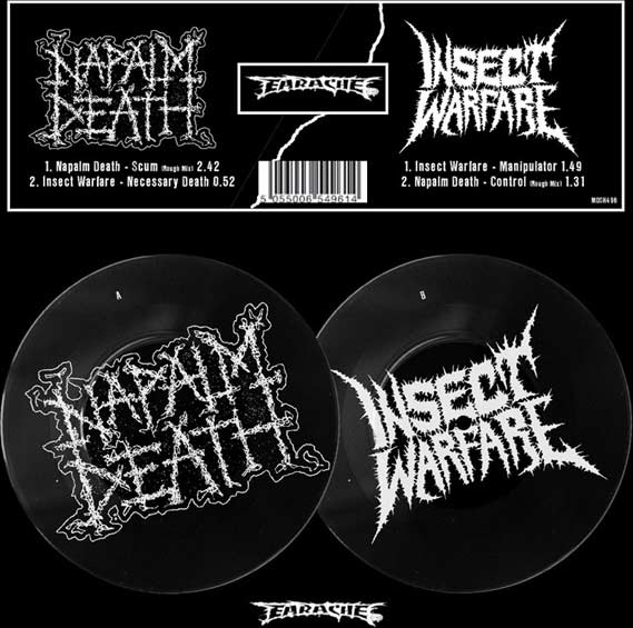 Napalm Death / Insect Warfare - Napalm Death / Insect Warfare