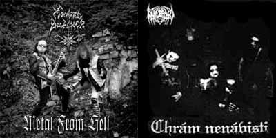 Maniac Butcher / Inferno - Metal from Hell / Chrám Nenávisti