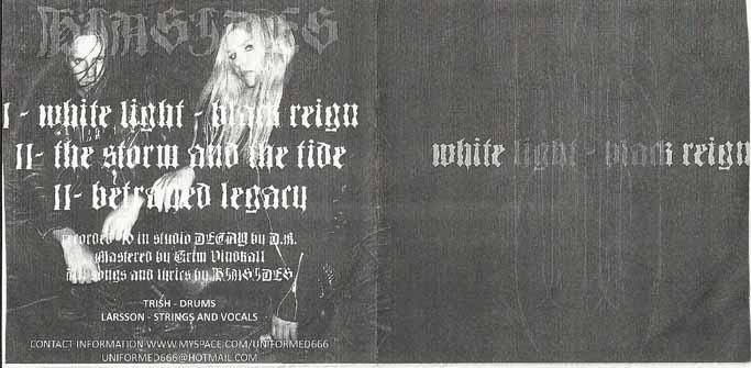 Hinsides - White Light - Black Reign