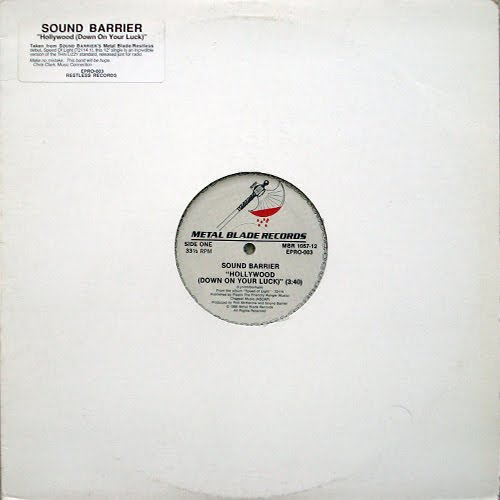 Sound Barrier - Hollywood (Down on Your Luck)