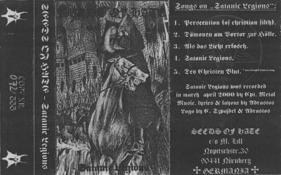 Seeds of Hate - Satanic Legions