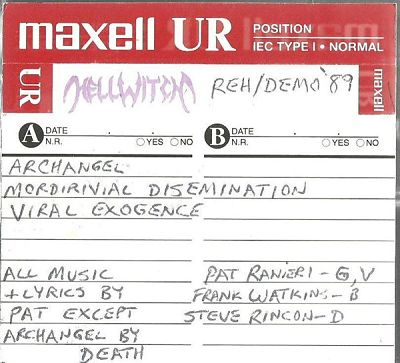 Hellwitch - Rehearsal Demo
