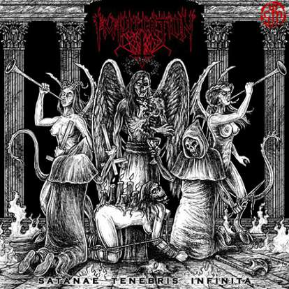Imprecation - Satanae Tenebris Infinita
