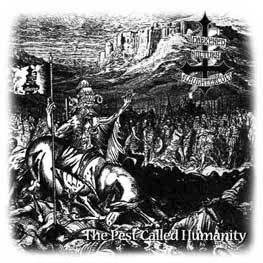 Pyre / Darkened Nocturn Slaughtercult - The Pest Called Humanity / Luciferian Dark Age