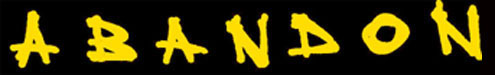 Abandon - Logo
