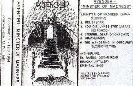 Avenger - Minster of Madness