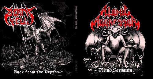 Atomic Aggressor / Death Yell - Blind Servants / Back from the Depths