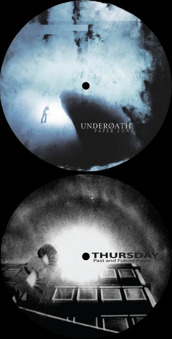 Underoath - Paper Lung / Past and Future Ruins