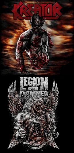 Kreator / Legion of the Damned - Kreator / Legion of the Damned