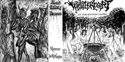 Blood Thirsty Demons / Wytchkraft - Wytchkraft / Blood Thirsty Demons