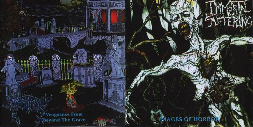 Insatanity / Immortal Suffering - Vengeance from Beyond the Grave / Images of Horror