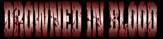 Drowned in Blood - Logo
