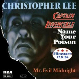 Christopher Lee - Captain Invincible - Name Your Poison