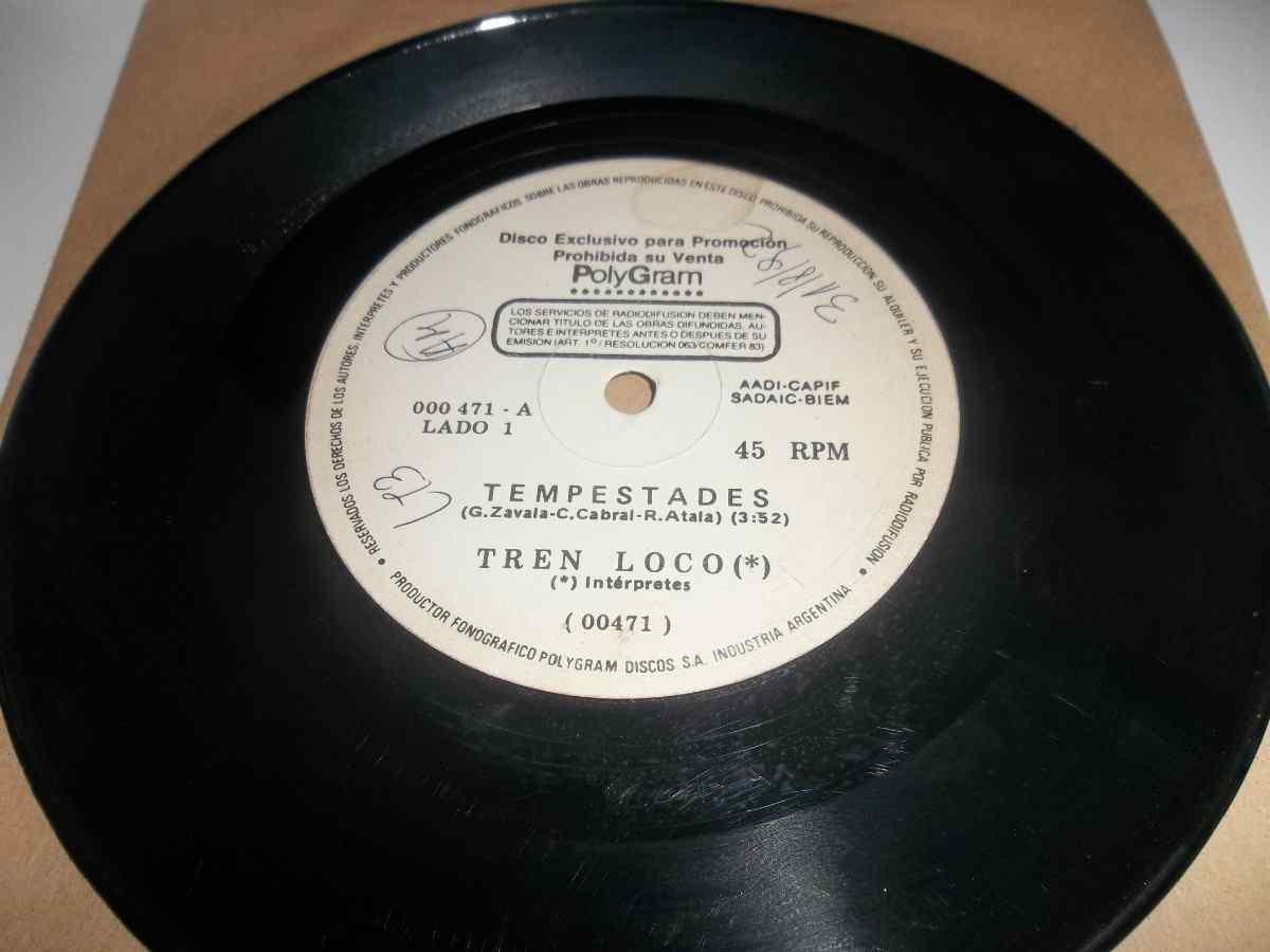 Tren Loco - Tempestades / Ella (Se mueve en silencio)