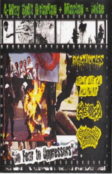 Agathocles / Grotescolândia / Jefe de la Morgue / Exacerbación - No Fear to Oppressors