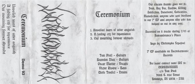 Ceremonium - Demo 93