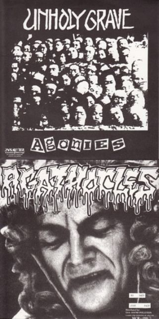 Agathocles / Unholy Grave - Agonies / No Gain - Just Pain