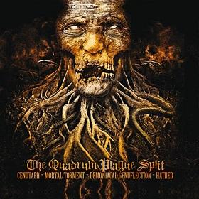 Cenotaph / Hatred / Mortal Torment / Demoniacal Genuflection - The Quadrum Plague Split