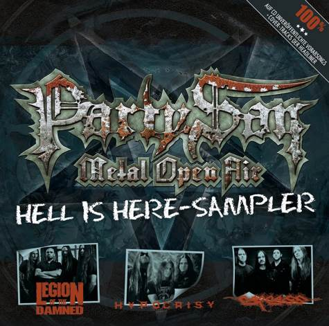 Carcass / Hypocrisy / Legion of the Damned - Party.San Metal Open Air - Hell Is Here-Sampler