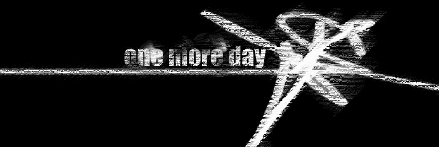 One More Day - Logo