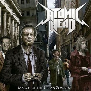 Atomic Head - March of the Urban Zombies