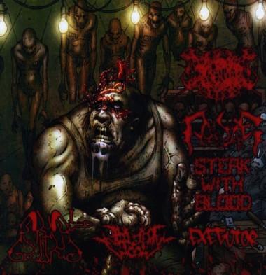 Anal Grind / Steak with Blood / Шумовая Экзекуция / Intrauterine Worm - 6-Way Sickness