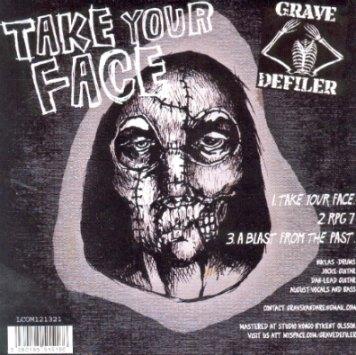 Grave Defiler / Atomic Moonshine - Atomic Moonshine / Grave Defiler