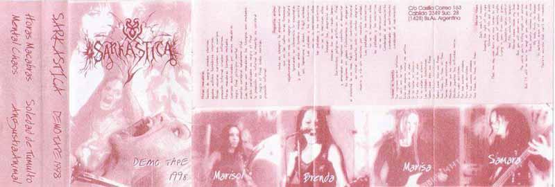 Sarkastica - Demo Tape 1998