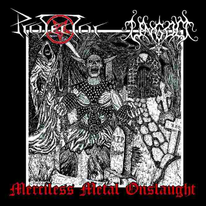 Protector / Ungod - Merciless Metal Onslaught
