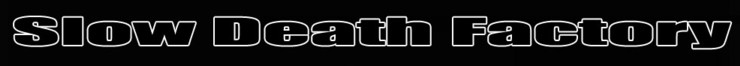 Slow Death Factory - Logo