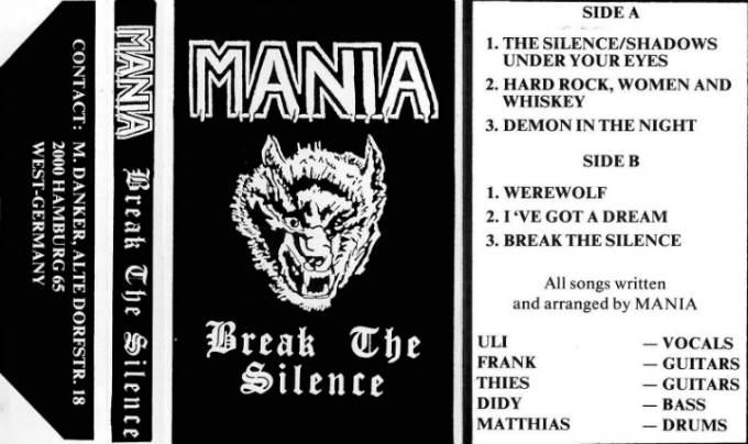 Mania - Break the Silence