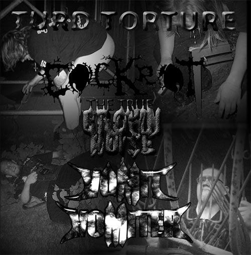 Cockrot / The True Brown Noise / Vomit Vomiter - Turd Torture