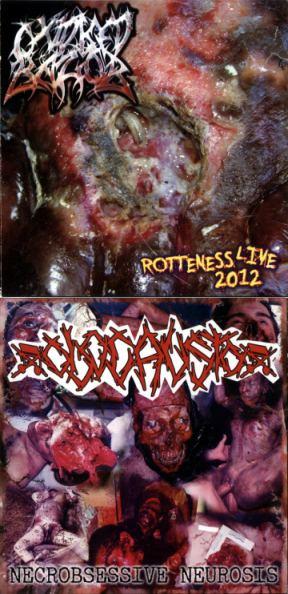 Oxidised Razor / Olocausto - Rotteness Live 2012 / Necrobsessive Neurosis