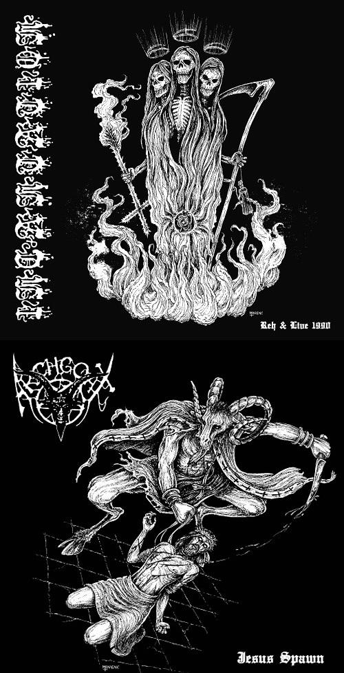 Incantation / Archgoat - Reh & Live 1990 / Jesus Spawn