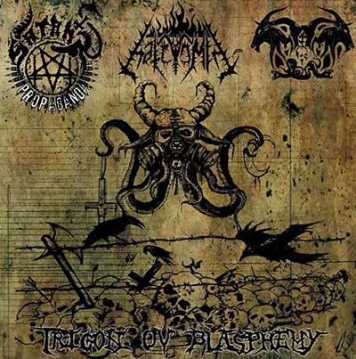 Satan's Propaganda / Hatevomit / Impaler of Pest - Trigon ov Blasphemy