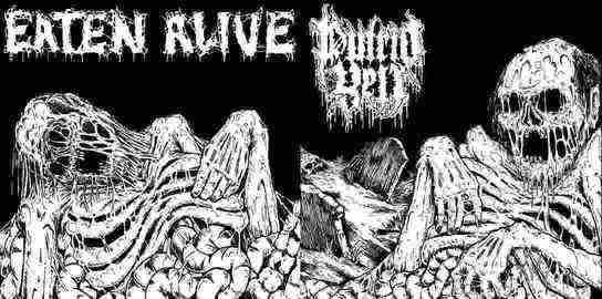 Putrid Yell / Eaten Alive - Vicious Manifestation of Horror and Death