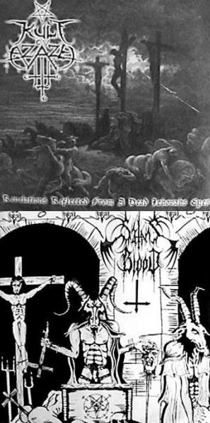 Kult ov Azazel / Satan's Blood - Satan's Blood / Kult ov Azazel
