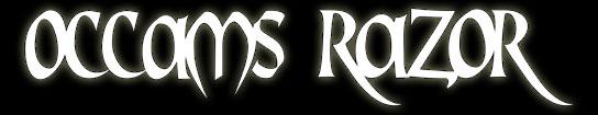 Occams Razor - Logo