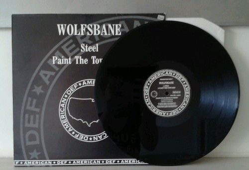 Wolfsbane - Steel / Paint the House